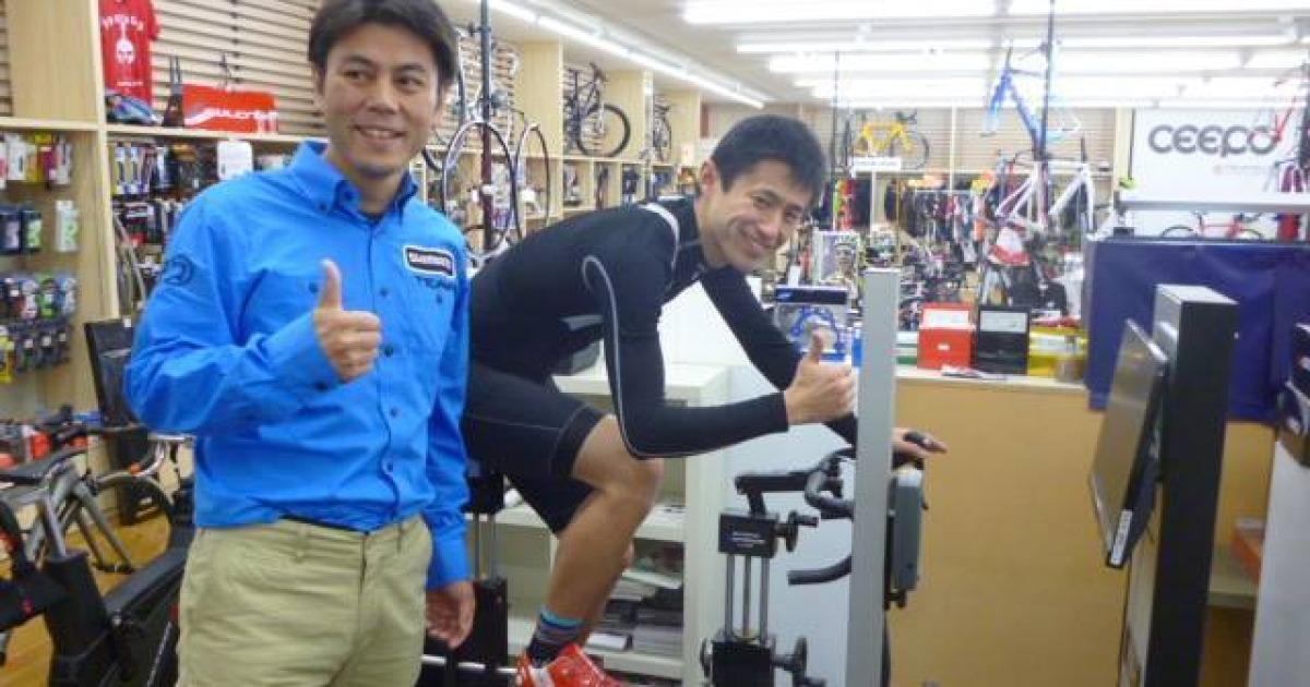 岡山県・香川県下最大級のロードバイク・クロスバイク専門店「WAVE BIKES」シマノぺダリングアナリシス!~まだまだ楽に速くなれる要素はいっぱいある!~